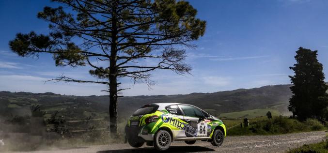 CST brilla al Rally Liburna con Pollara – Princiotto su Peugeot