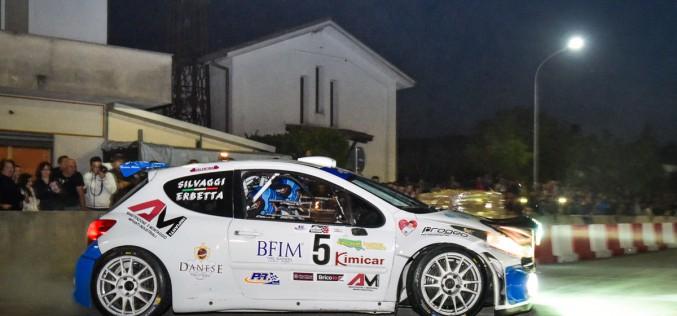 Erbetta si ritira, causa problemi tecnici, al Rally Terra di Argil