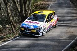 I trofei Renault Rally pronti ad entrare nella sotria della centesima edizione del Rally Targa Florio
