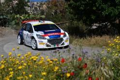 Paolo Andreucci ed Anna Andreussi, Peugeot 208 T16 R5, vincono la 100ª Targa Florio