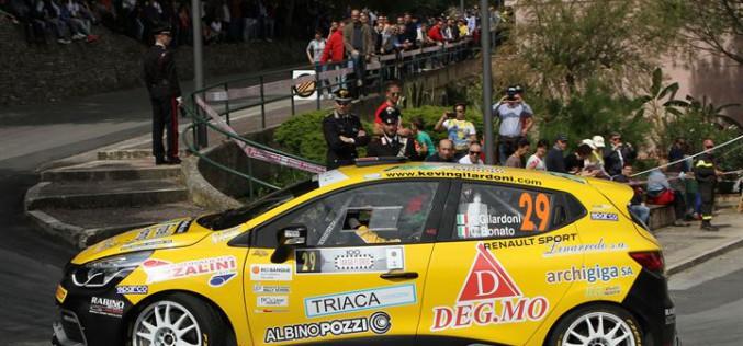 Risultato positivo per Kevin Gilardoni alla Targa Florio