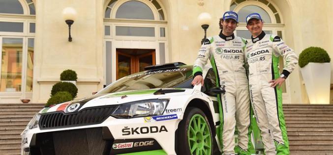 Škoda Italia Motorsport al Campionato del Mondo Rally con Scandola-D'Amore
