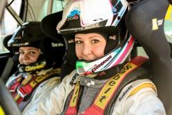 Corinne Federighi in cerca di conferme al Rally Adriatico