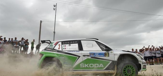 Skoda Fabia R5 conferma il dominio al 23° Rally dell'Adriatico