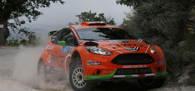 Campedelli porta la Fiesta GPL di BRC al secondo posto dell'Adriatico. Basso conquista un bel quarto posto nonostante la sfortuna
