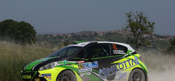 Michelin R2 Rally Cup 2016 all'Adriatico buon inizio di Bernardi