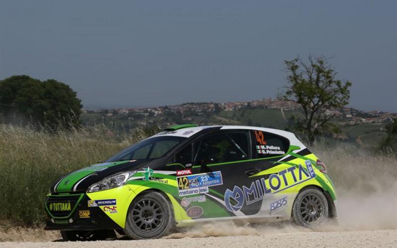 Michelin R2 Rally Cup 2016 all'Adriatico buon inizio di Bernardi
