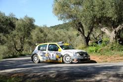Emanuel Forieri al via del Rally delle Colline Metallifere e Val di Cornia