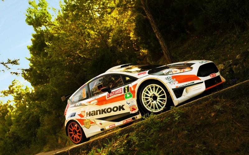 """ERTS-Hankook Competition  sulla terra """"tricolore"""" del Rally Adriatico"""