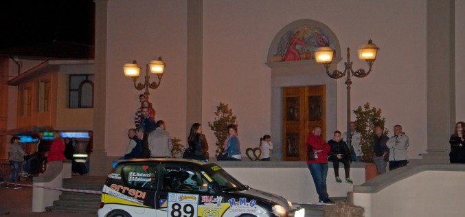 Dario Baldassarri nuovo leader del Trofeo Rally Automobile Club Lucca