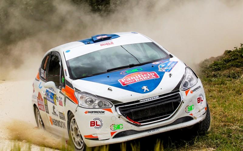 Buon 4° posto di classe per Manuel Lugano alla 23° edizione del Rally Adriatico