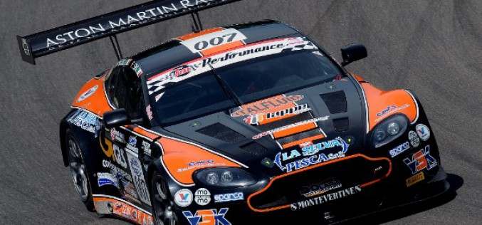 Primo podio stagionale per l'Aston Martin Vantage GT3 della Solaris Motorsport a Imola