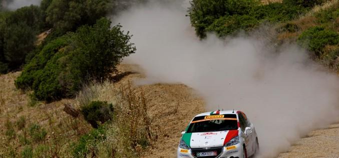 ACI Team Italia conquista il WRC3 al Rally Italia Sardegna