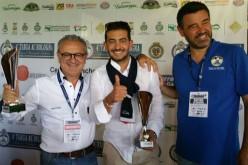 Francesco e Giuseppe Di Pietra su Fiat 508 davanti a tutti alla Targa AC Bologna