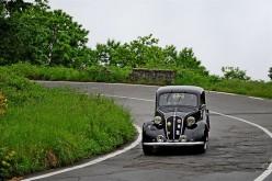 A Scarabelli e Adorni su A112 la generale della Coppa della Collina, Top Car Di Pietra su Fiat 508 C del '38