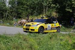 Gabriele Tognozzi al via del 34° Rally degli Abeti e Abetone