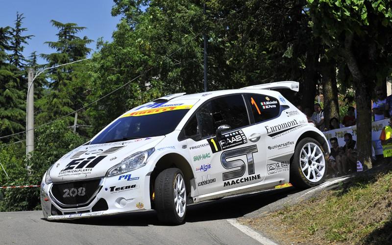 Rudy Michelini al successo nel Rally Alto Appennino Bolognese