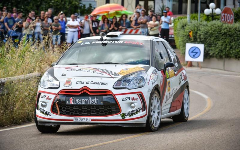 Mauro Santantonio prosegue la sua stagione prendendo parte al 2° Rally Città dei Santi