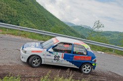 Dario Bertolacci e Chiara Lombardi nuovi leader del Trofeo Rally Aci Lucca