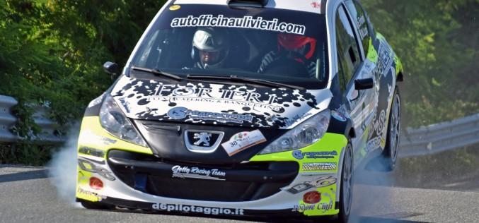 Emanuel Forieri protagonista, al debutto sulla Peugeot 207 S2000