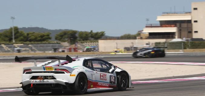 Lorenzo Veglia in evidenza a Le Castellet per il Super Trofeo Lamborghini