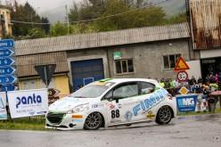Al Rally del Casentino giro di boa per Andrea Casarotto