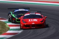 Baccarelli-Ferrara  si schierano nella GT Cup con una Ferrari 458 Italia della Caal Racing