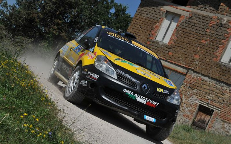 Gilardoni è terzo di RC3 al 44 San Marino Rally