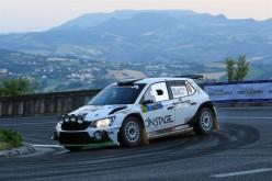 Luca Hoelbling sul podio del Trofeo Rally Terra al 44° Rally San Marino