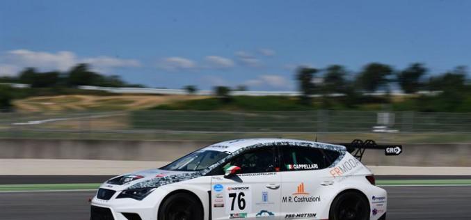 Daniele Cappellari, un podio sfiorato al Mugello nel quarto round del Campionato Italiano Turismo