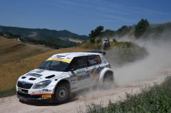 """Daniele Ceccoli vince il """"Terra"""" al Rally di San Marino"""