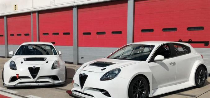 Due Alfa Romeo Giulietta QV sfornate dalla Bacci ed Autofficina Rally al debutto in pista a Vallelunga