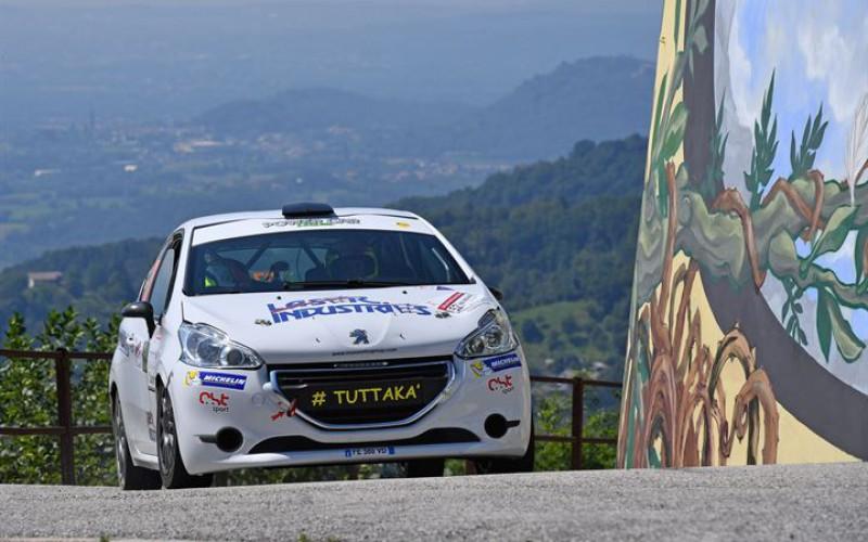 A Pollara – Princiotto su Peugeot 208 la Michelin R2 Rally Cup