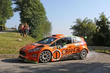 Campedelli e Fappani esaltanti al 52° Rally Friuli Venezia Giulia