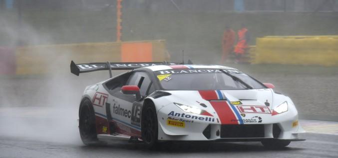 E' podio per Lorenzo Veglia a SPA nel Super Trofeo Lamborghini Europe