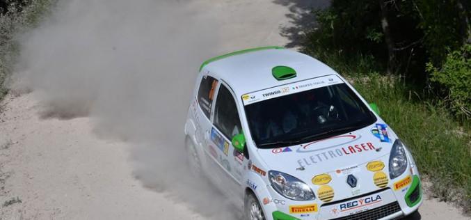Jacopo Trevisani al Nido Dell'Aquila punta al successo nel Trofeo Renault Twingo