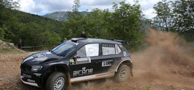 Al Rally Il Nido dell'Aquila Hoelbling chiude al quinto posto del Trofeo Rally Terra 2016 e al terzo di classe