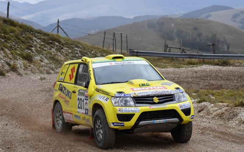 CI Cross Country Rally: sono Lorenzo Codecà e Bruno Fedullo a vincere il Nido dell'Aquila