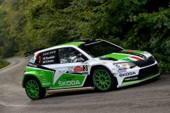 SKODA vince con Scandola-D'Amore il Rally di Roma Capitale e si rilancia nel campionato