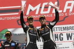 Bortolotti-Mul, la vittoria in gara-2 li inserisce nella lotta per il titolo della Super GT3