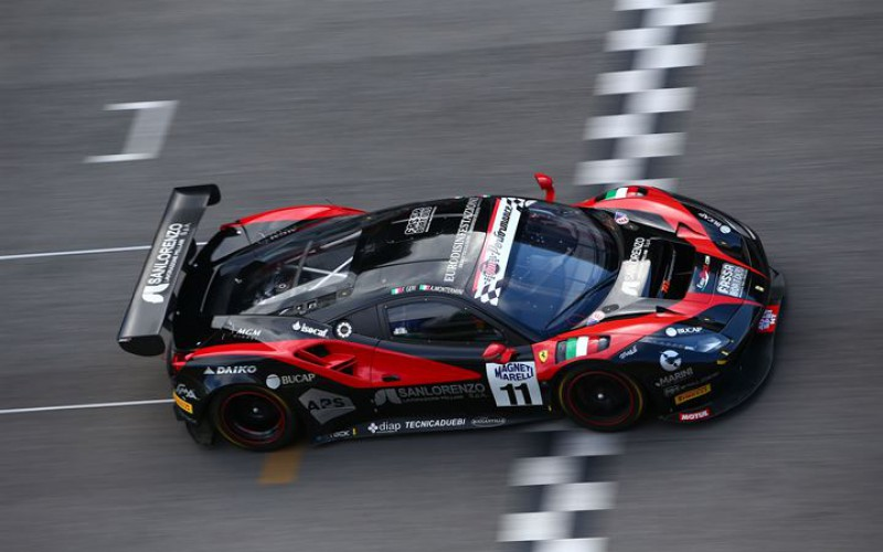 Niccolò Schirò rientra nel Campionato Italiano Gran Turismo
