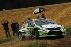 Max Rendina al via della 38ª edizione del Rally di Pico