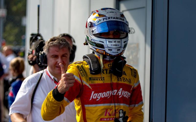 Ancora un podio per Giovinazzi, terzo nella sprint race a Monza