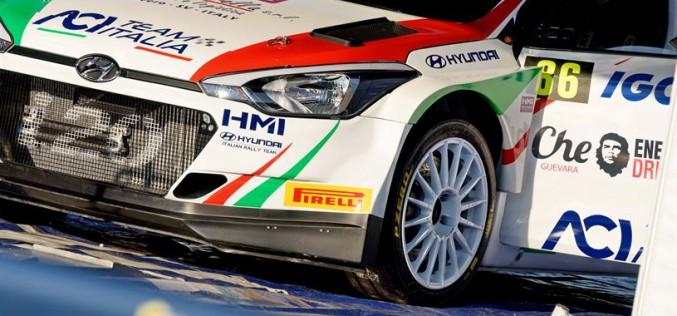 Andolfi al Tour de Corse con la nuova Hyundai i20 New Generation R5