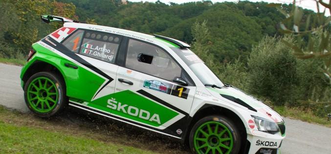 Luca Artino vince il Campionato Regionale Rally ACI Sport Toscana-Umbria