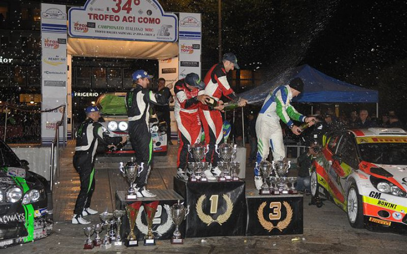 E' pronto il 35° Rally Trofeo Aci Como decisivo per il Campionato Italiano WRC 2016