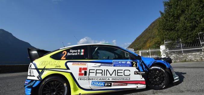 Con la vittoria al 35° Rally Trofeo Aci Como Marco Signor e Patrick Bernardi, si aggiudicano il Campionato Italiano WRC 2016
