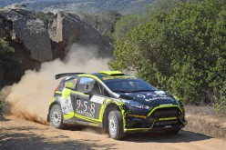 Gianmarco Donetto al Rally Val d'Orcia
