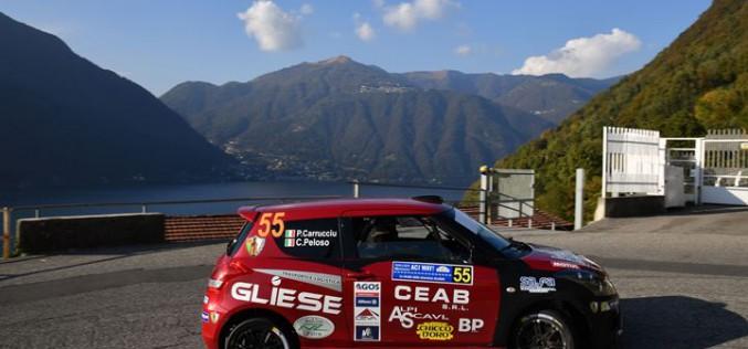 La Suzuki Rally Cup 2016 è di Corrado Peloso e Paolo Carrucciu