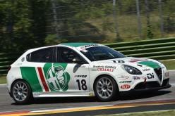 Gianni Giudici, è con la Giulietta il rientro tricolore a Monza per l'ultimo round del Campionato Italiano Turismo